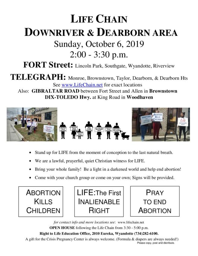 Downriver Life Chain flier 2019-page-001
